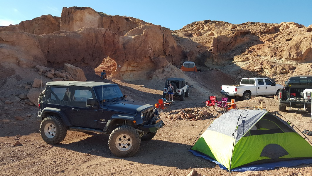 Camping: Odessa Canyon