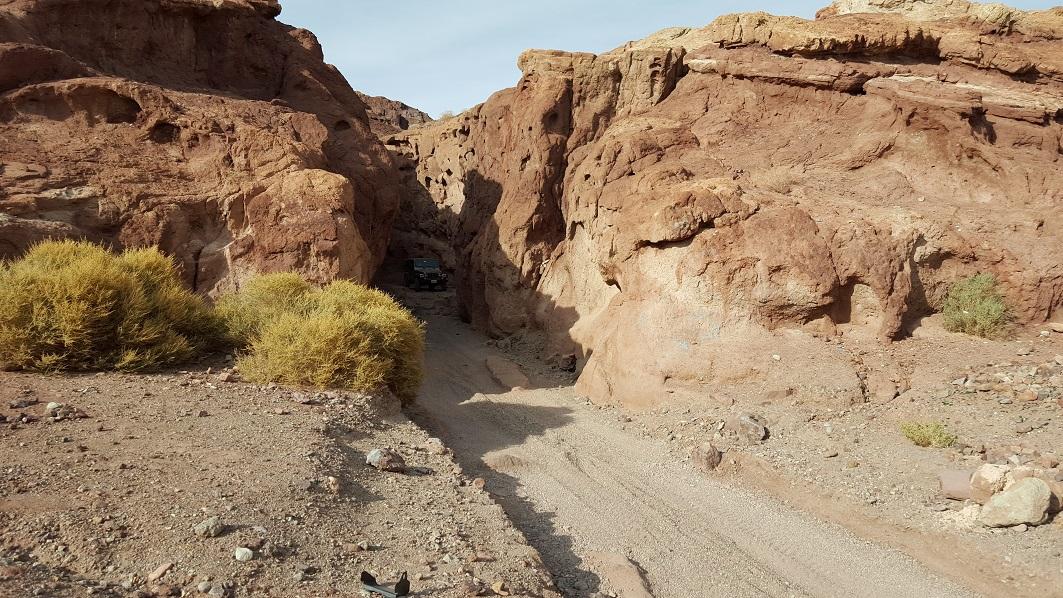 Odessa Canyon - Waypoint 1: Trailhead