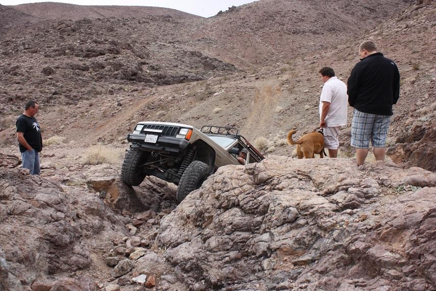 Doran Canyon - Waypoint 6: Hard Spot  - Optional Harder Route