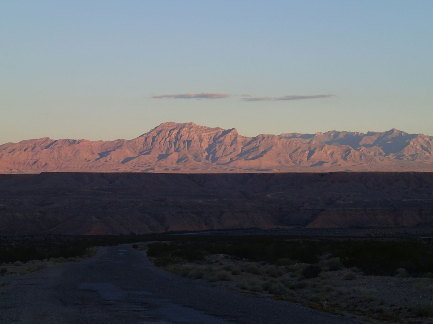 Gold Butte Backcountry Byway - Waypoint 3: View Looking Back
