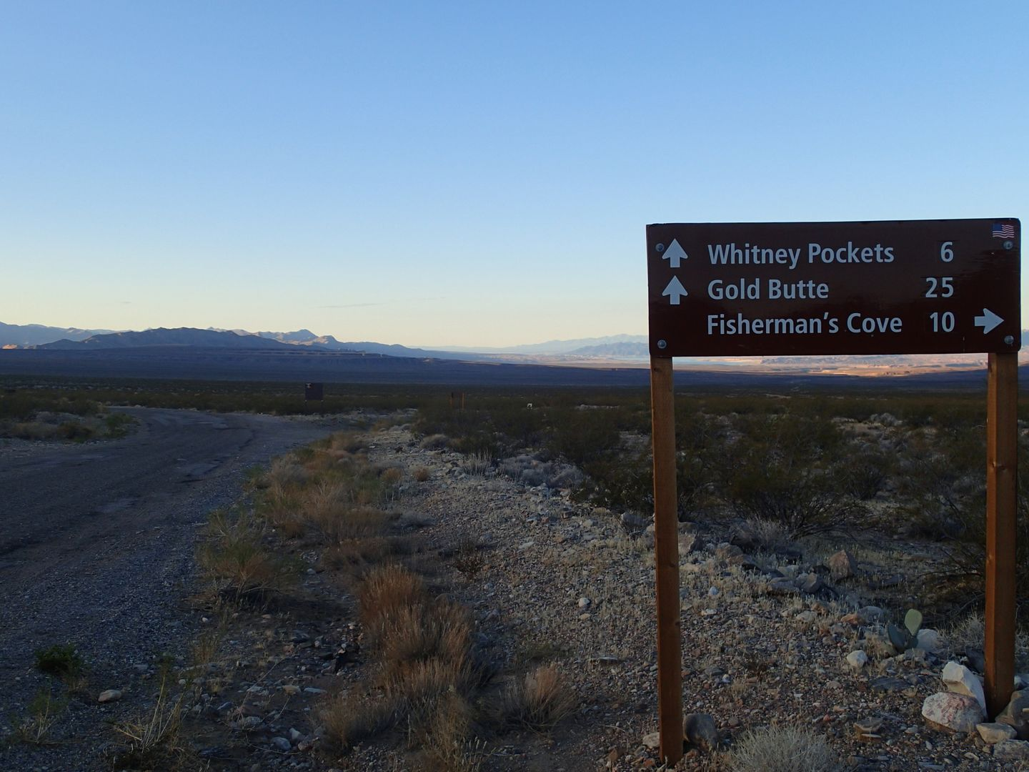 Gold Butte Backcountry Byway - Waypoint 5: Virgin River Access Road to Fishermans Cove