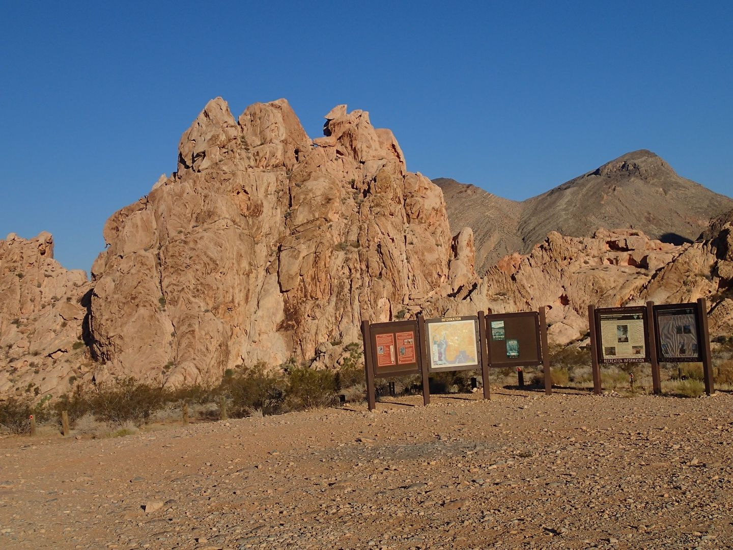 Gold Butte Backcountry Byway - Waypoint 9: Parking Area