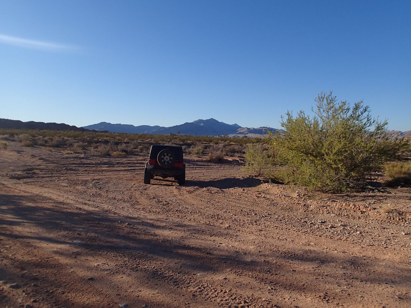 Gold Butte Backcountry Byway - Waypoint 10: Mud Wash Road Intersection