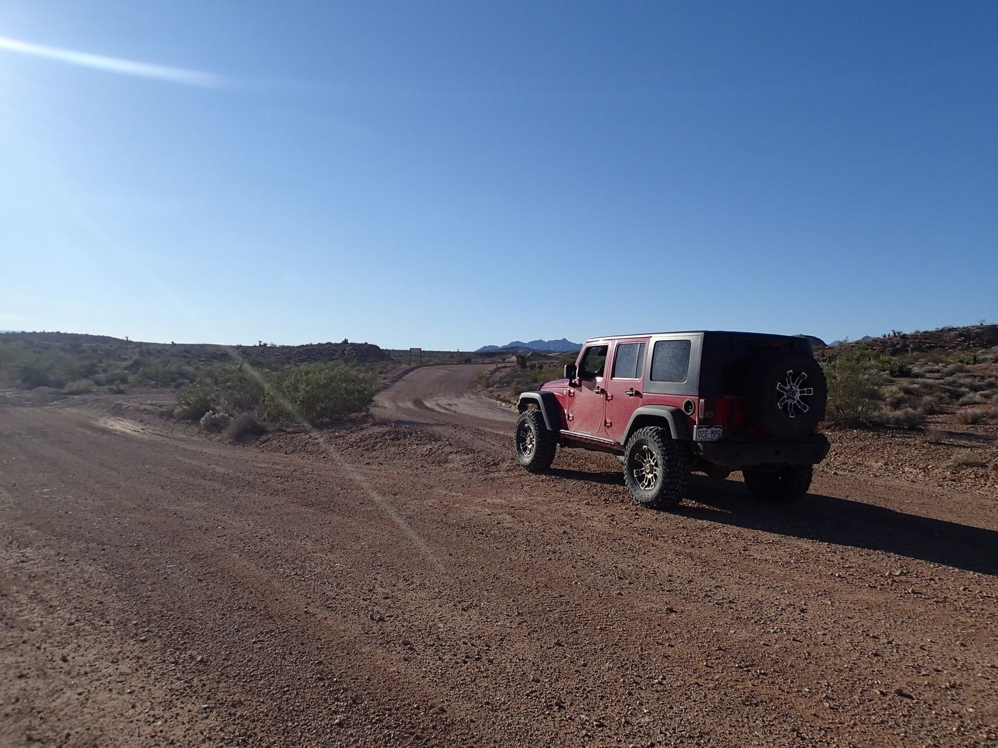Gold Butte Backcountry Byway - Waypoint 12: 113 Intersection