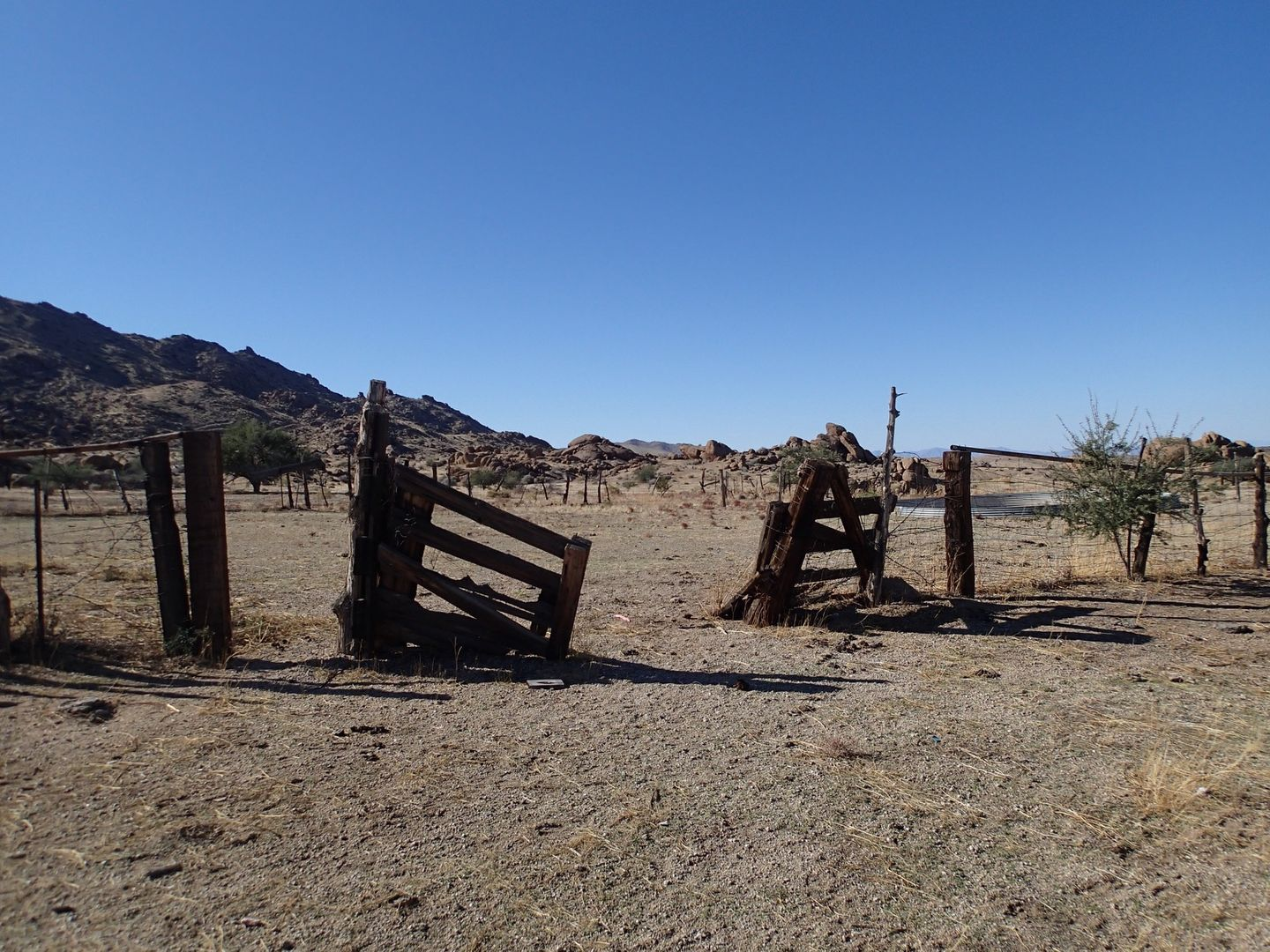 Gold Butte Backcountry Byway - Waypoint 14: Corral