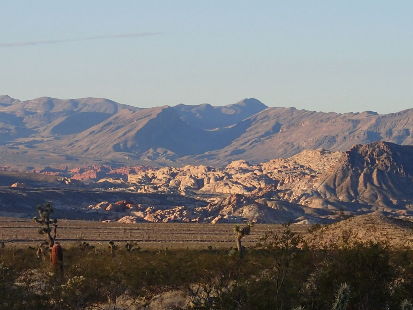 Gold Butte Backcountry Byway - Waypoint 6: View