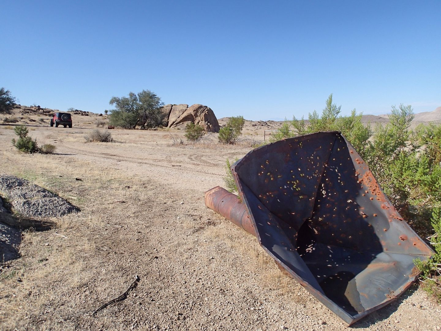 Gold Butte Backcountry Byway - Waypoint 15: Gold Butte Townsite