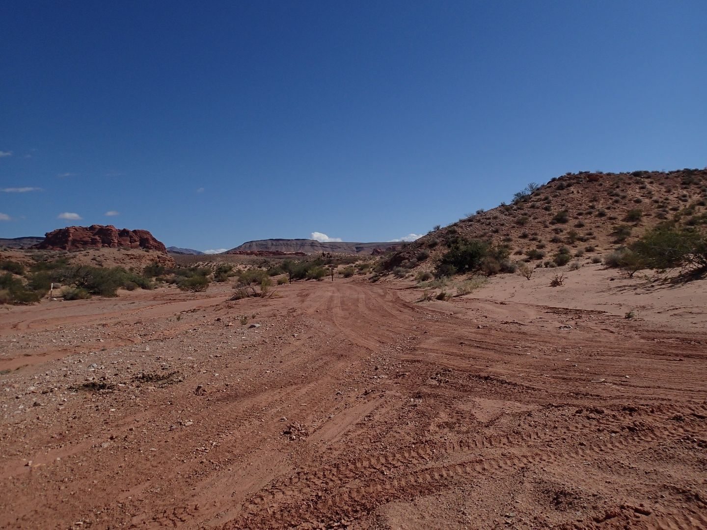 Gold Butte Backcountry Byway - Waypoint 25: Unknown Road Intersection