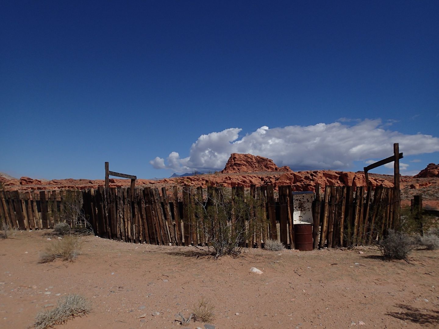 Gold Butte Backcountry Byway - Waypoint 26: Historic Corral