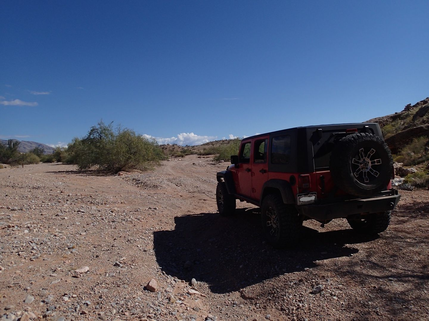 Gold Butte Backcountry Byway - Waypoint 27: Y  Intersection