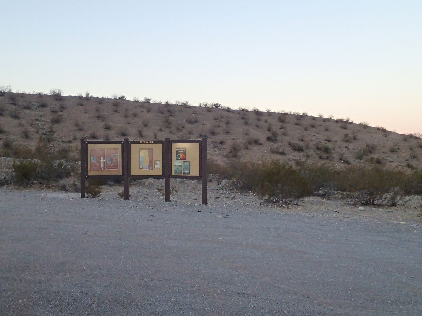 Gold Butte Backcountry Byway - Waypoint 1: Start