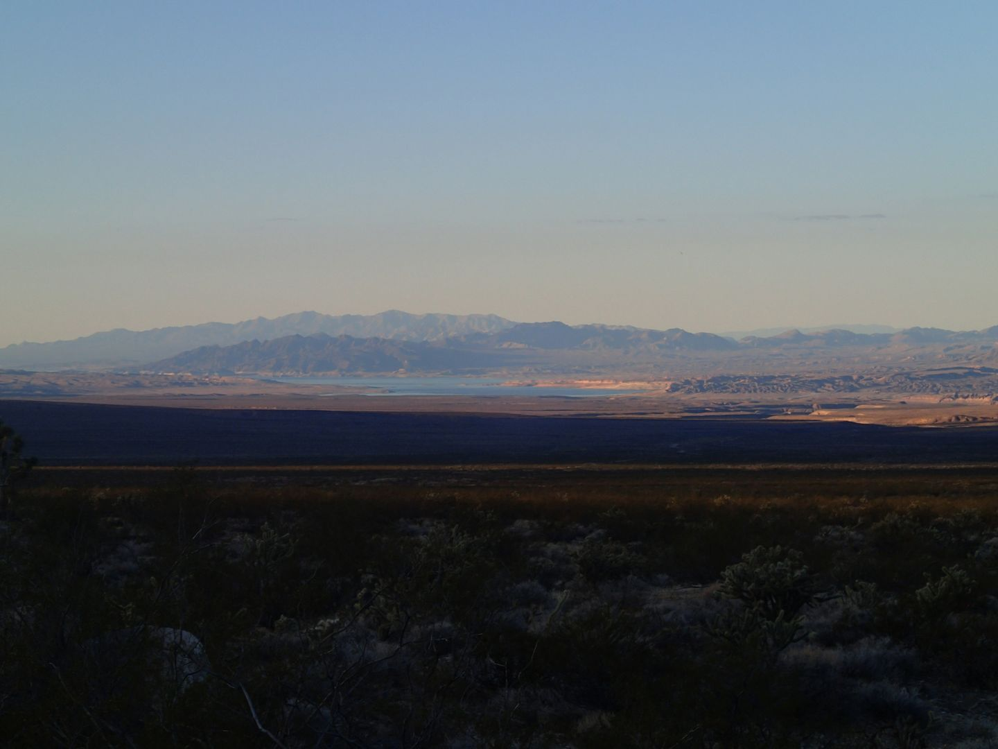 Gold Butte Backcountry Byway - Waypoint 4: View of Lake Mead