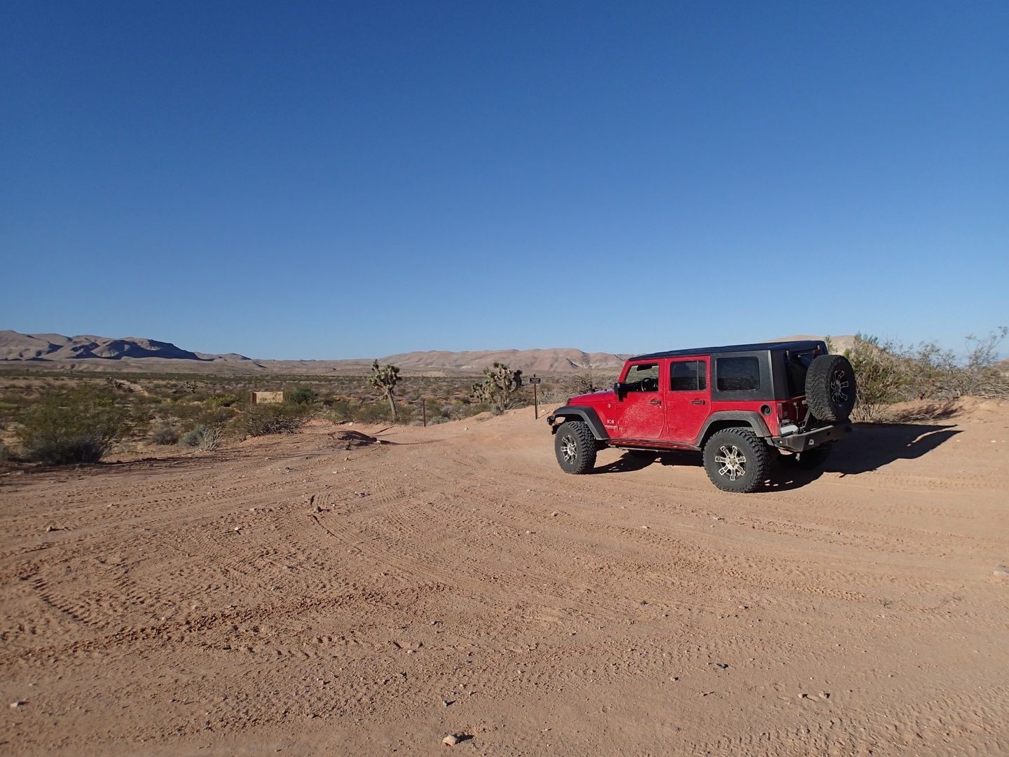Gold Butte Backcountry Byway - Waypoint 11: Devils Throat Intersection
