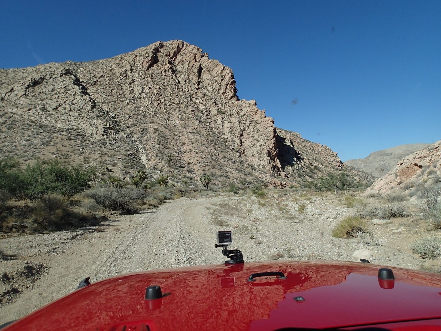Gold Butte Backcountry Byway - Waypoint 18: Lincoln Mine Intersection