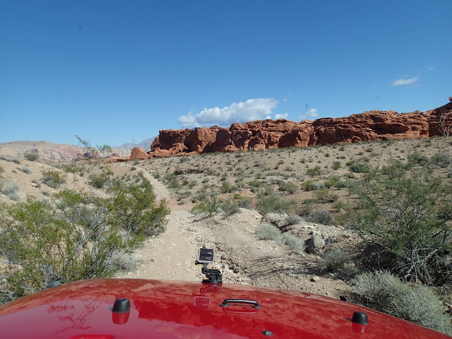 Gold Butte Backcountry Byway - Waypoint 20: Red Rock Views