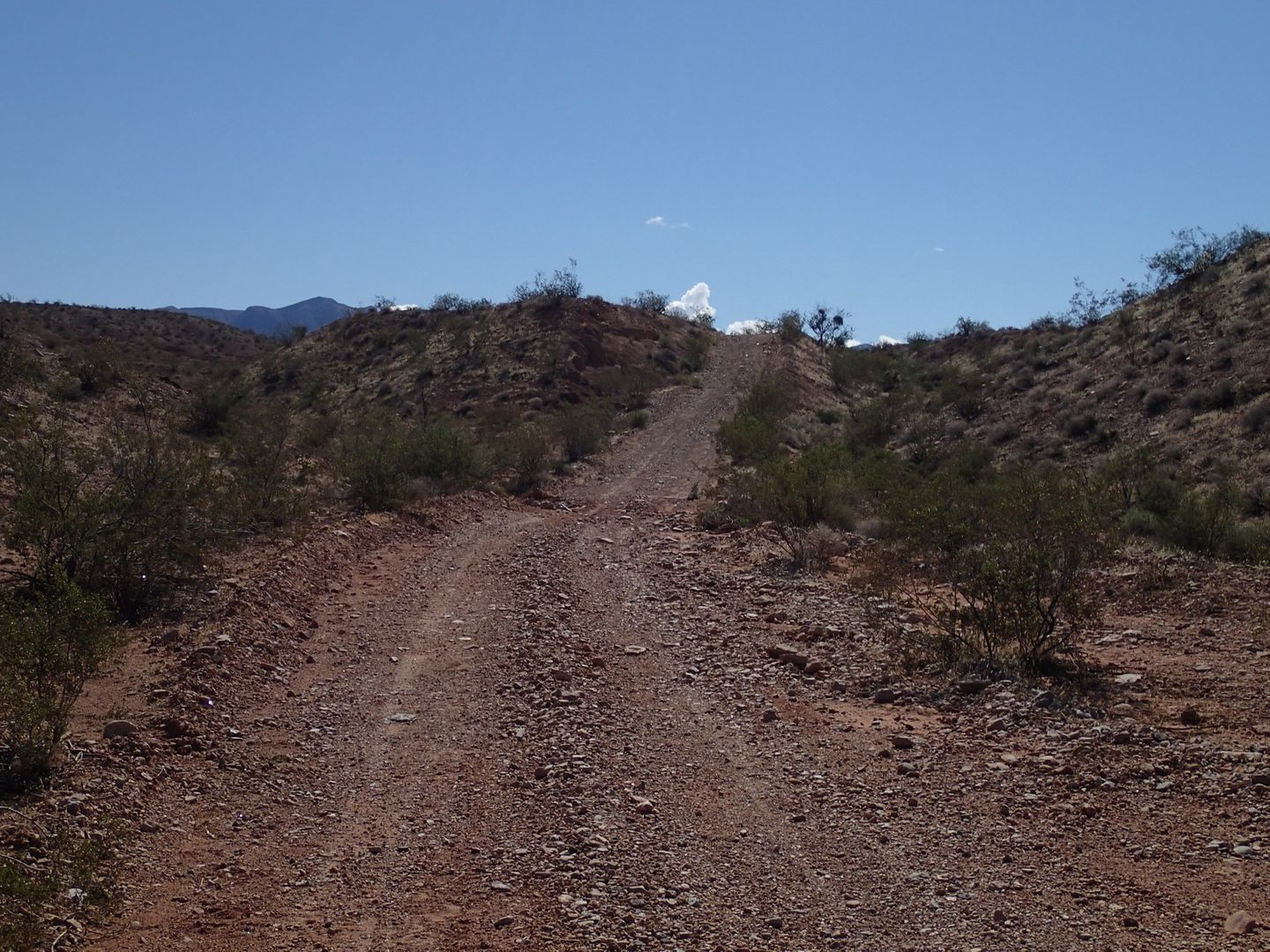 Gold Butte Backcountry Byway - Waypoint 21: Unknown Road Intersection
