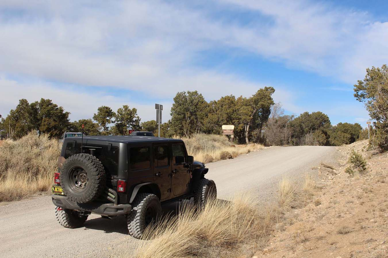 Chamisoso Canyon - Waypoint 2: Coyote Trailhead Facility