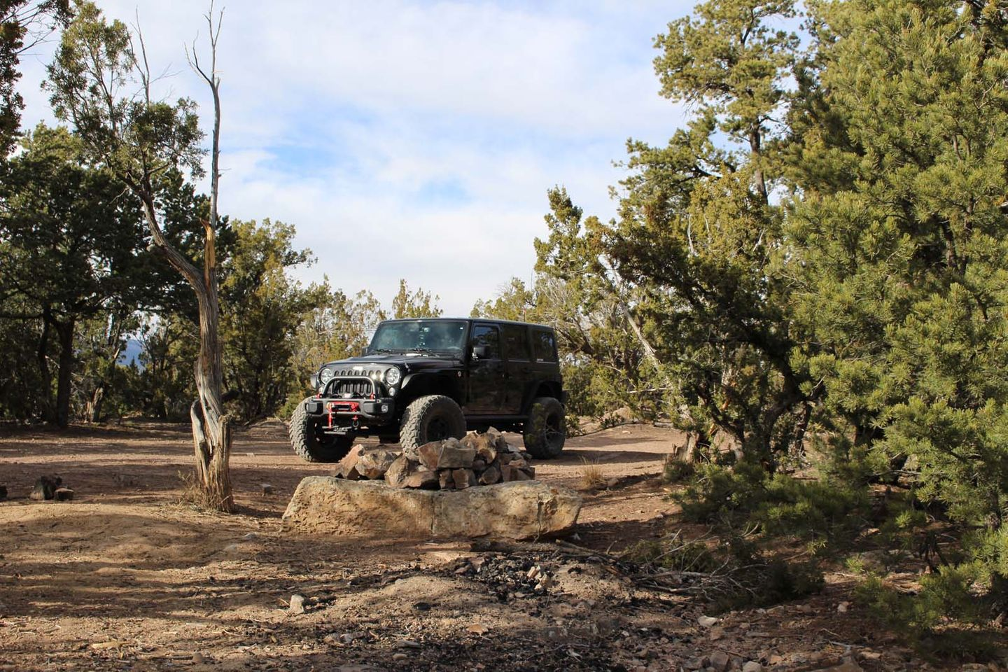 Chamisoso Canyon - Waypoint 5: 462DC1 Motorized Dispersed Camping Spur