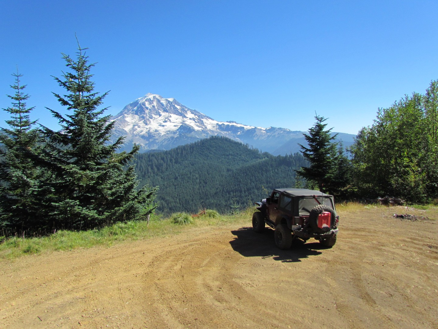 Evans Creek / Trail #519 - Waypoint 2: Mt.Rainier View / Turnaround