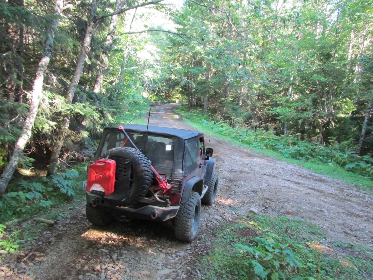 Evans Creek / Trail #519 - Waypoint 10: Trail End