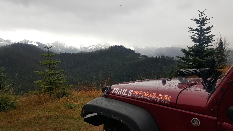 Evans Creek / Trail #519 - Waypoint 3: Mount Rainer Viewpoint