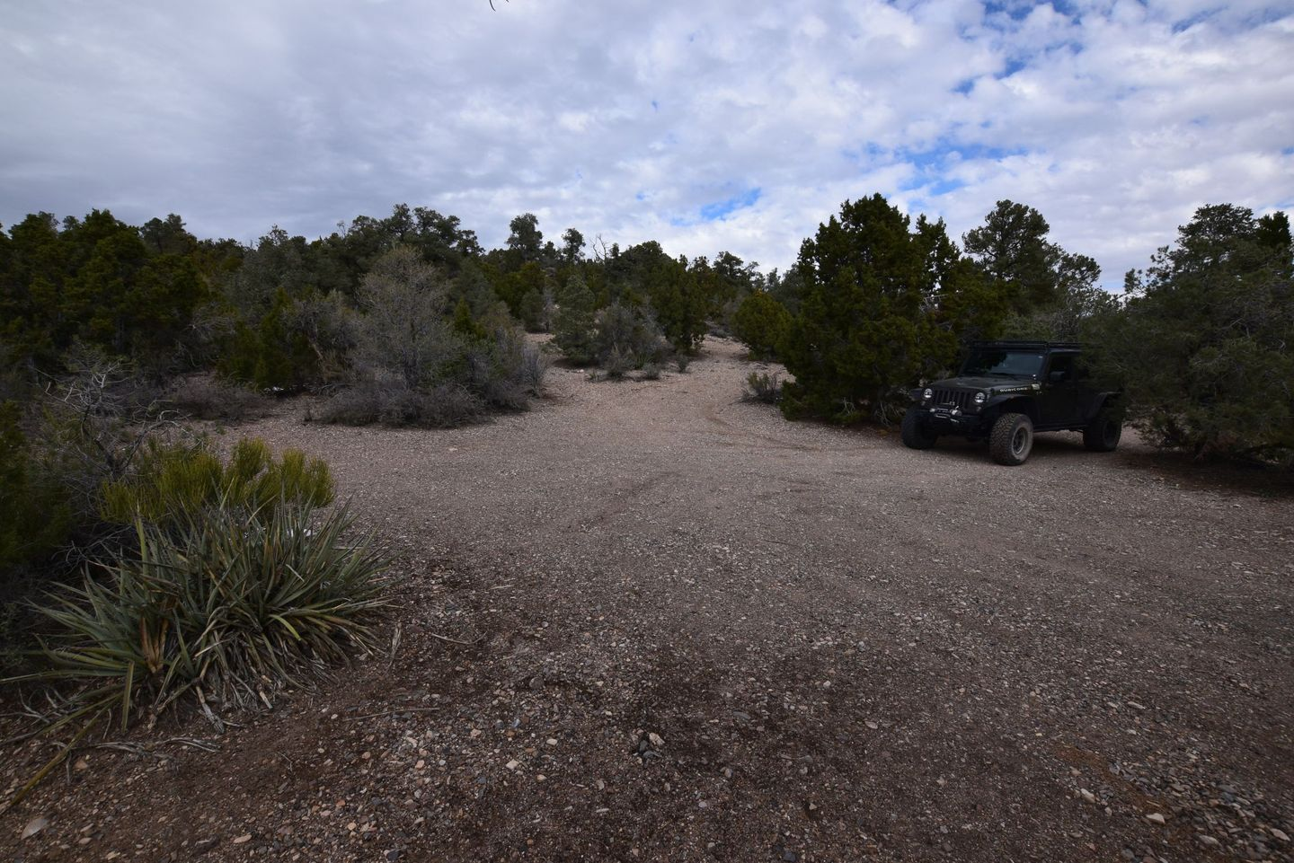 Pine Nut Road - Waypoint 8: Campground / Endpoint