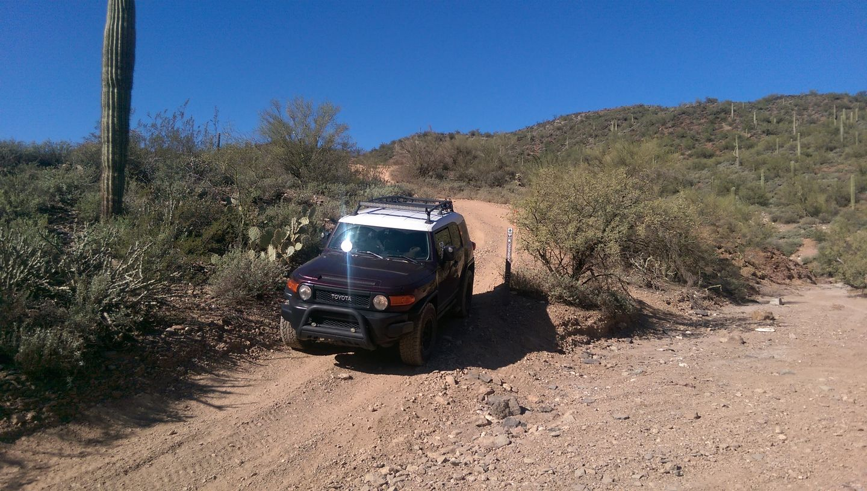 Old Black Canyon Highway - Waypoint 5: Big Wash North End