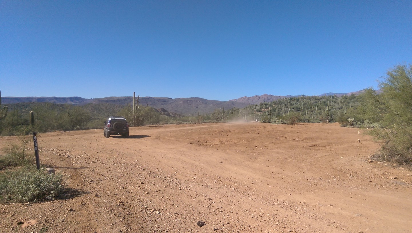 Old Black Canyon Highway - Waypoint 16: 9999 & 9982 Trailhead