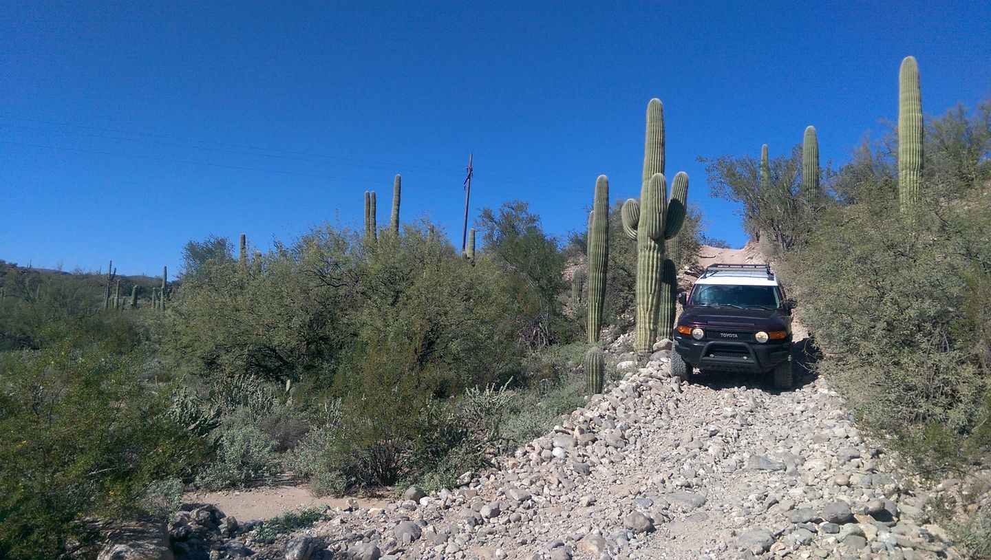 Old Black Canyon Highway - Waypoint 11: Rock Hill