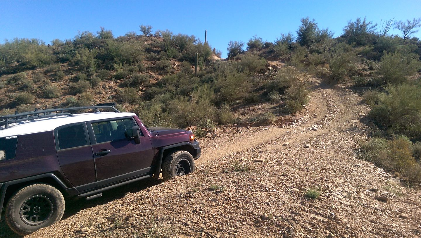 Old Black Canyon Highway - Waypoint 7: Narrow Hill Climbs