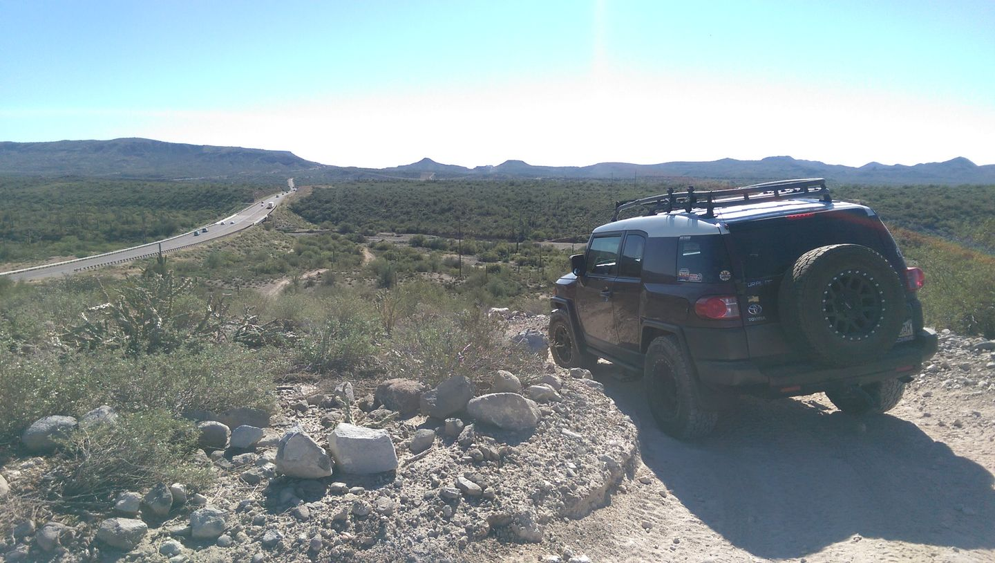 Old Black Canyon Highway - Waypoint 10: Narrow Switchbacks South End