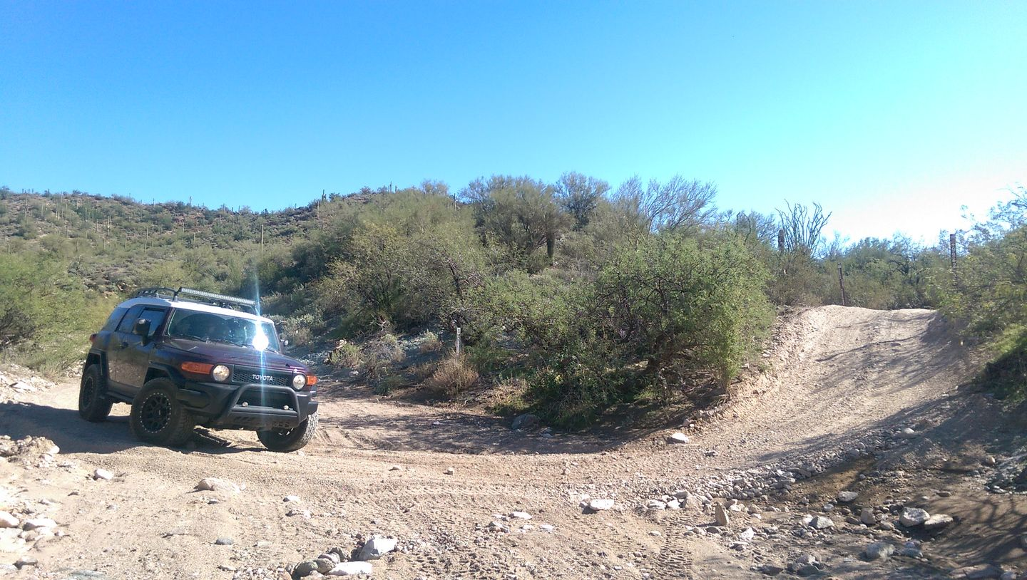 Old Black Canyon Highway - Waypoint 6: Big Wash South End