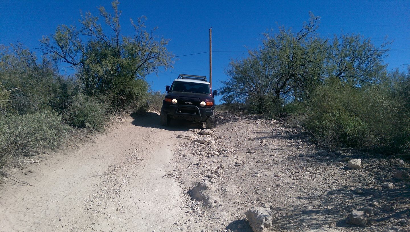 Old Black Canyon Highway - Waypoint 3: Rocky Curve