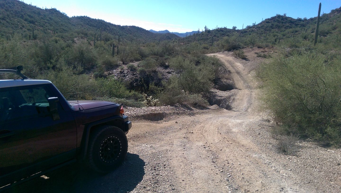 Old Black Canyon Highway - Waypoint 4: Hill Washes