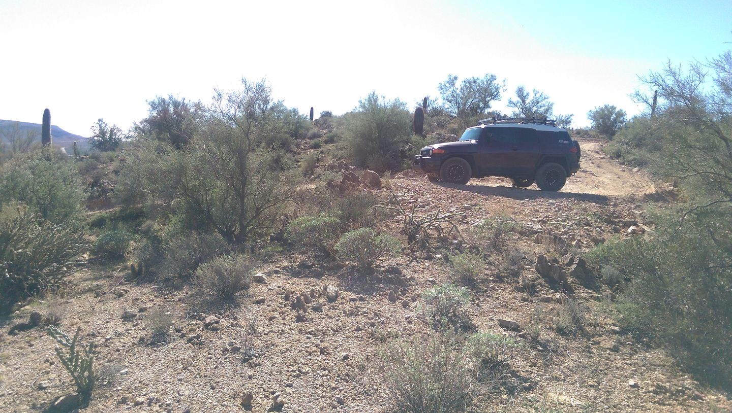 Old Black Canyon Highway - Waypoint 8: Tight Switchbacks North End