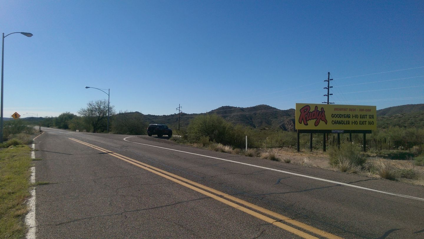 Old Black Canyon Highway - Waypoint 1: Old Black Canyon Highway Trailhead