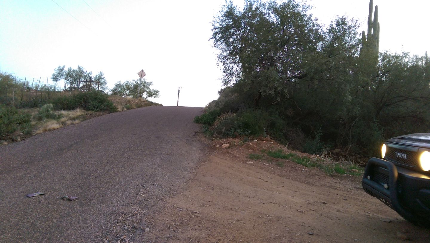 Black Canyon OHV Trail - Waypoint 23: Lisa Dr. & Dirt Road Intersection