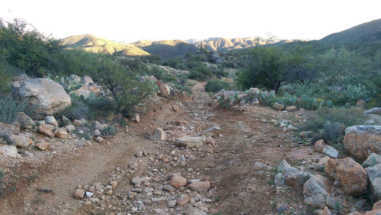 Black Canyon OHV Trail - Waypoint 14: Big rocks
