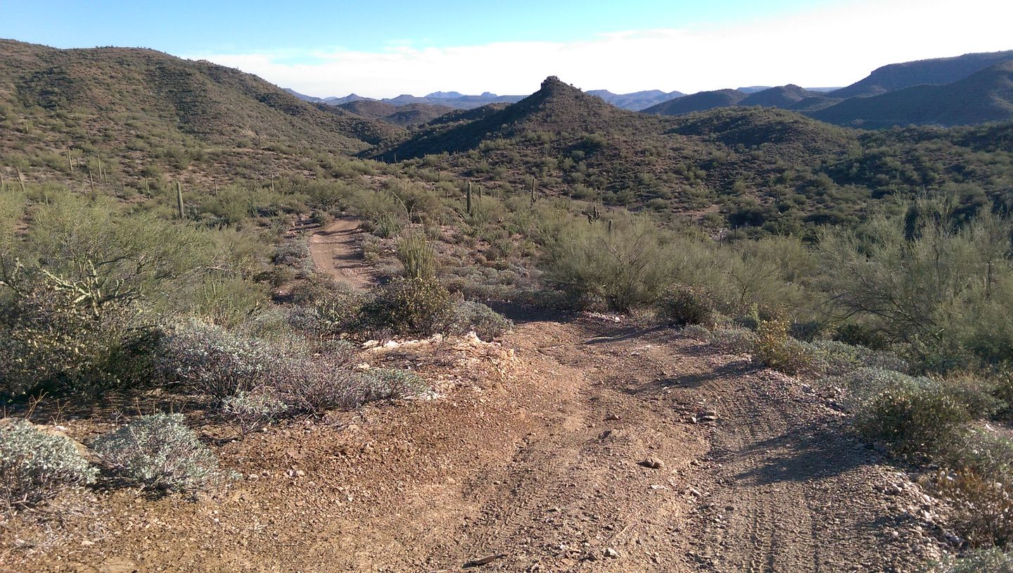 Black Canyon OHV Trail - Waypoint 7: Hill top