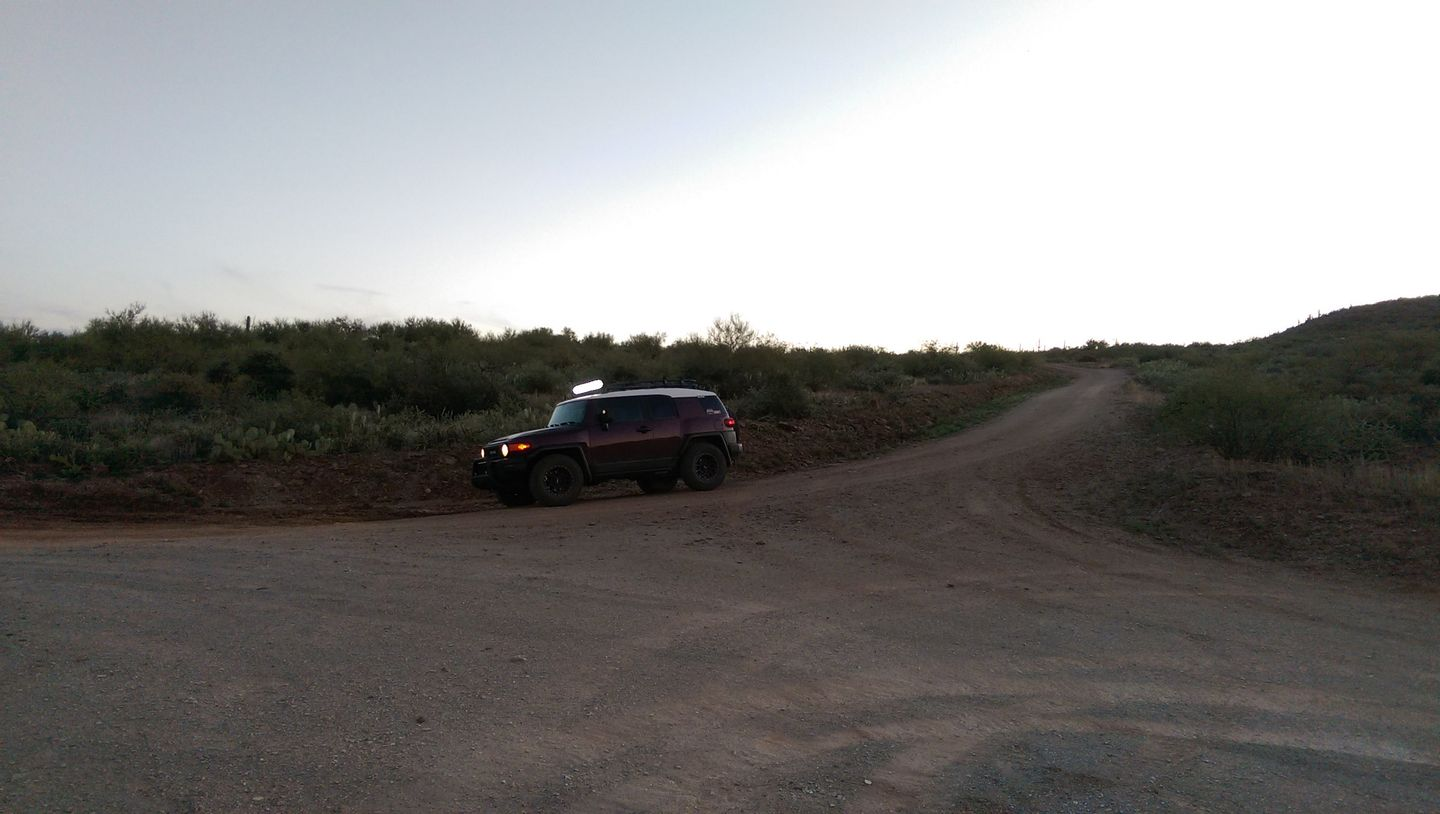 Black Canyon OHV Trail - Waypoint 22: To Private Land or Trail Intersection