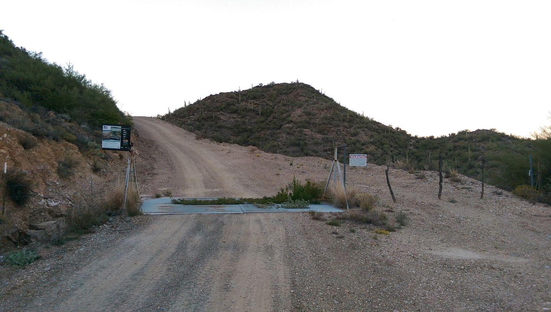 Black Canyon OHV Trail - Waypoint 20: Ranch Gard