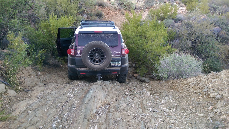 Black Canyon OHV Trail - Waypoint 12: Rut Wash
