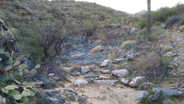 Black Canyon OHV Trail - Waypoint 13: Slate Creek