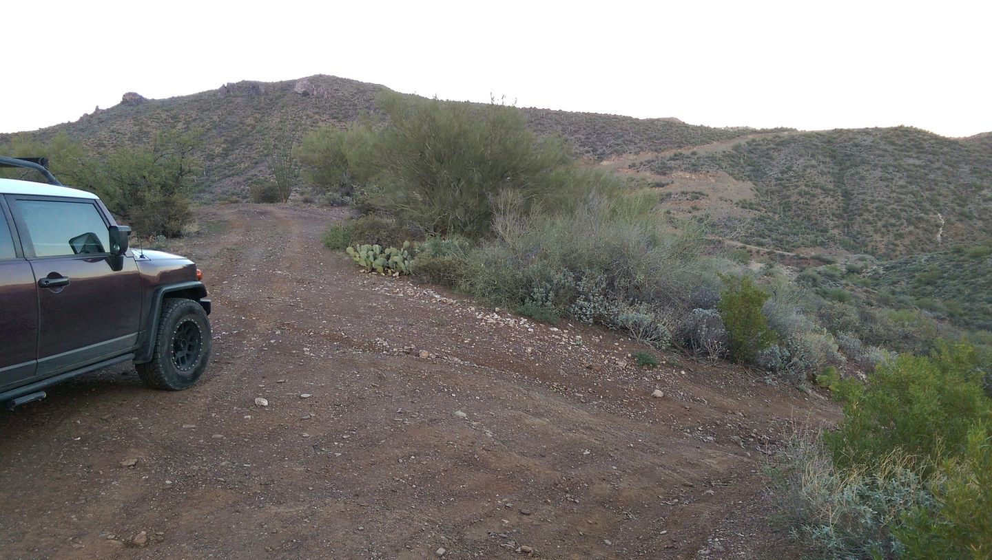 Black Canyon OHV Trail - Waypoint 16: Camping Spot