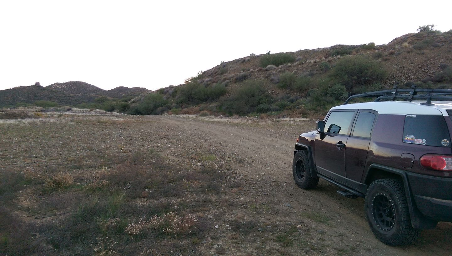 Black Canyon OHV Trail - Waypoint 17: Large Staging & Camping Area