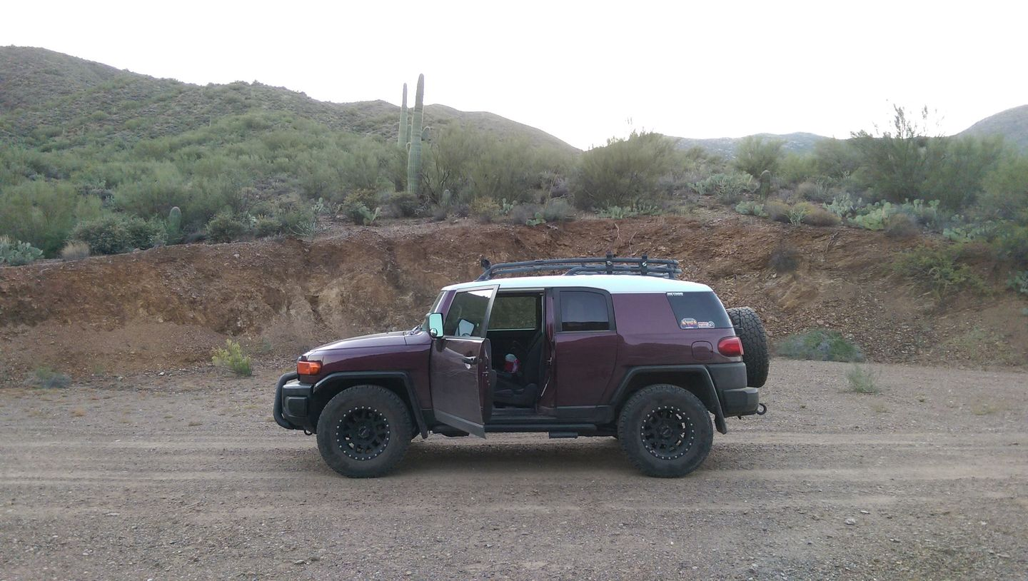Black Canyon OHV Trail - Waypoint 19: Private Property Gate