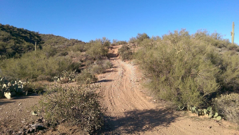 Black Canyon OHV Trail - Waypoint 8: Rocky hills