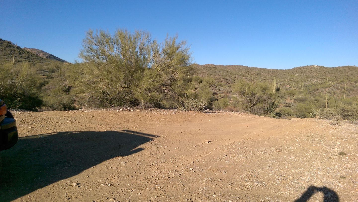Black Canyon OHV Trail - Waypoint 5: Stay Right (northwest)