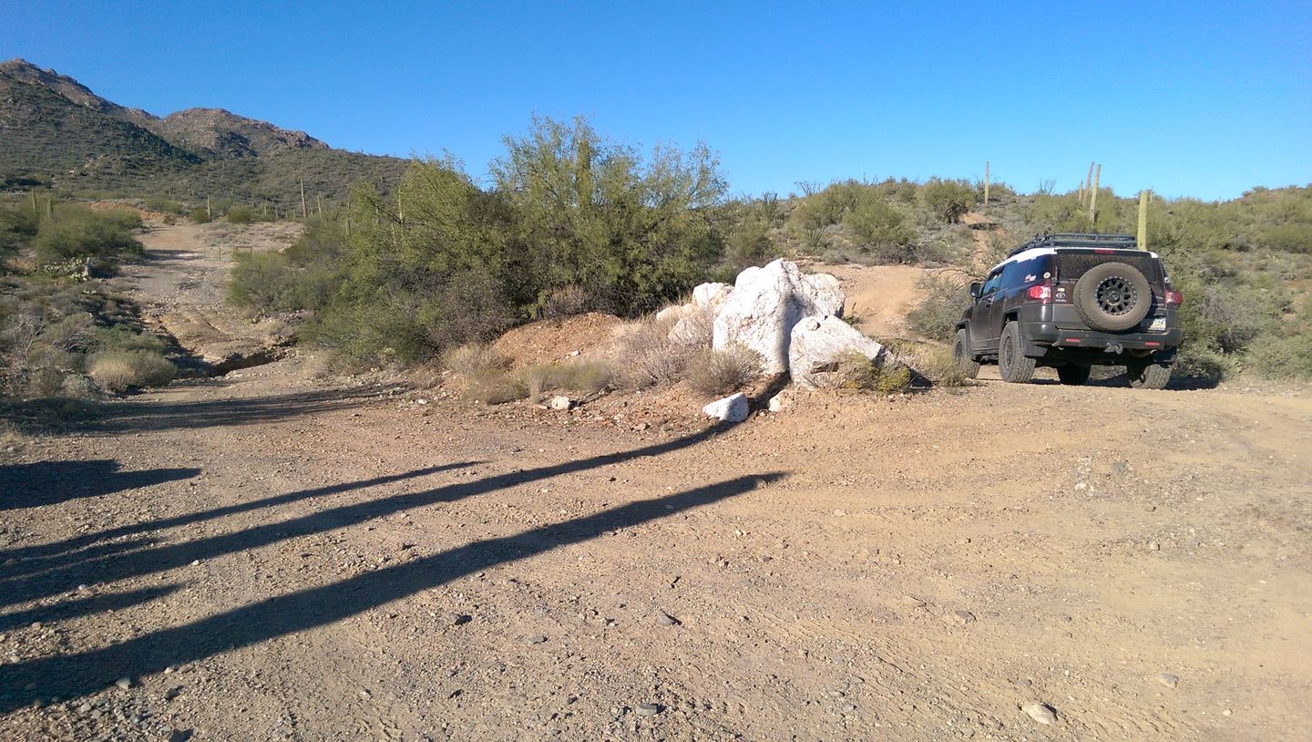 Black Canyon OHV Trail - Waypoint 4: AZCO Camping & 9958 intersection