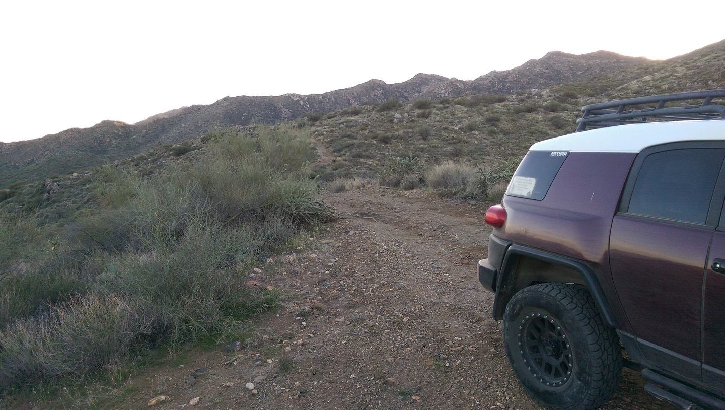 Black Canyon OHV Trail - Waypoint 15: High point